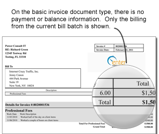invoicing and accounting invoicing and billing invoice document